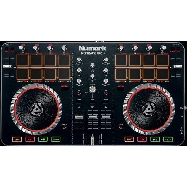how to use numark mixtrack pro 2