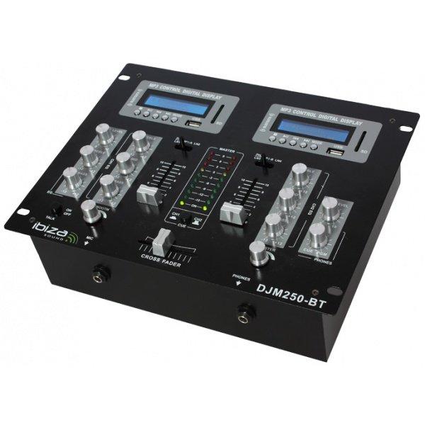 Bst djm250bt table de mixage dj auditorium26 toulouse - Table de mixage bluetooth ...