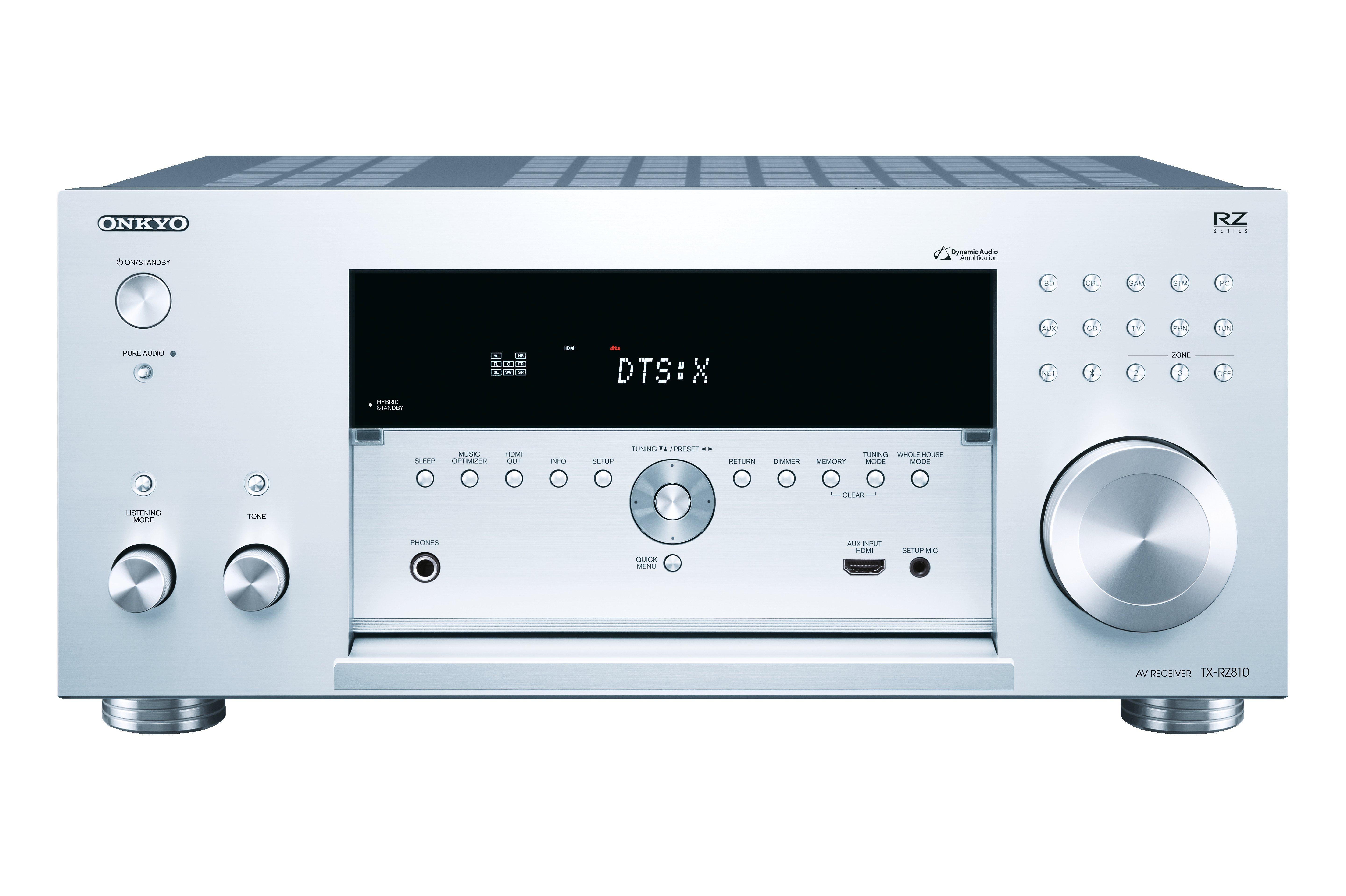 Onkyo TX-RZ810   Amplifier AV - SONOLOGY Toulouse