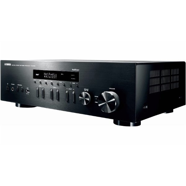 yamaha rn402 black amplificateur hifi dlna. Black Bedroom Furniture Sets. Home Design Ideas