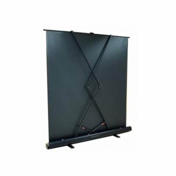 kimex ecran pull up projection transportable 200x113 format 16 9 ecran de projection. Black Bedroom Furniture Sets. Home Design Ideas