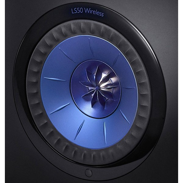 KEF LS50 Wireless Black/Blue