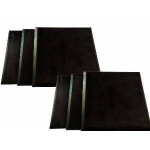 Artnovion Loa SQR Absorber - black cloth Nero - pack of 6m