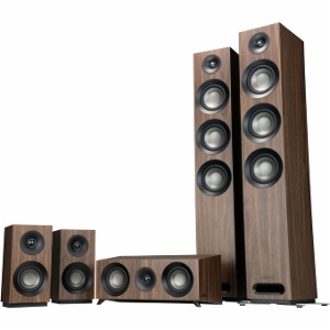 Jamo S809 HCS Walnut Pack